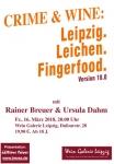 CRIME & WINE: Leipzig. Leichen. Fingerfood. 18.0
